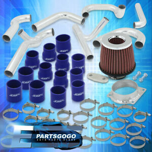 For 94 97 Ford Mustang 3 8l V6 Turbo Intercooler Fmic Piping Kit Filter Clamps