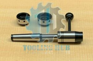 Lathe Tailstock Die Holder 3mt Shank Also For Emco Compact 5 Lathes