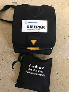 Physio control Lifepak Cr Plus Aed Automatic Unit And Carry Case Only