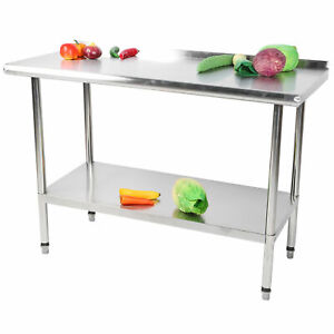 Commercial 48 x24 Work Table Stainless Steel Kitchen Food Prep Operating Table