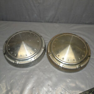 Plymouth Division Dog Dish 9 Hub Caps 69 70s One Pair Or Set Of 2