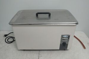 L r Sweep Zone Quantrex S650 Model S 650 Ultrasonic Cleaner With Lid Basket