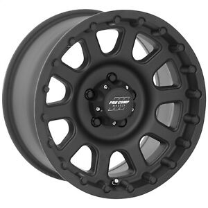 Pro Comp Alloy 7032 6865 Xtreme Alloys Series 7032 In Black Finish Universal