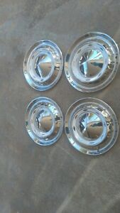 Vintage 1955 Chevrolet Chevy Bel Air Biscayne Delray Impala Hubcaps Wheel Covers