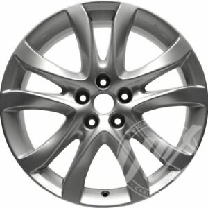 New 19 Inch Replacement Alloy Silver Wheel Rim Fits Mazda 6 2014 2016 5x114