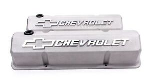 Proform 141 925 Valve Covers Aluminum Tall Fits Small Block Chevy
