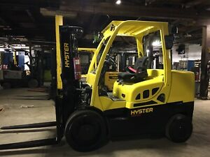 2018 Hyster 15 500 Lb Forklift With Side Shift And 2 Stage Mast