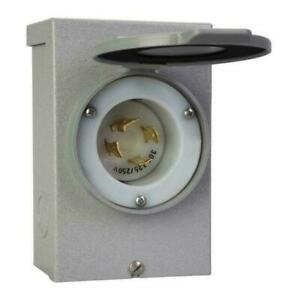 Reliance Controls 30amp Power Inlet Box