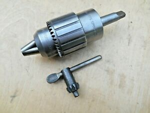 Jacobs 58b Headstock Spindle Lathe Chuck 1 1 2 X 8 Tpi 1 8 5 8