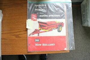 New Holland 210 325 Manure Spreaders Owner s Manual