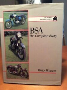 Bsa The Complete Story By Owen Wright