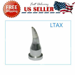 For Wilo Weller Ltax 1 6mm Curved Cone Brand New Soldering Tip Ltax Tools