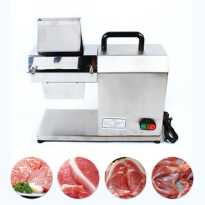 Electric Motor Compact Stainless Steel Beef Fillet Meat Jerky Tenderizer 750w