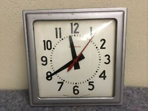 Simplex Time Recorder Co Clock time Clock industrial works