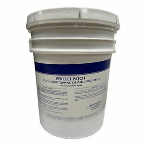 Perfect Patch 100 Percent Concrete Epoxy Patching Repair Kit 5 Gal