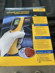 Fluke 561 Hvac Infrared And Contact Thermometer