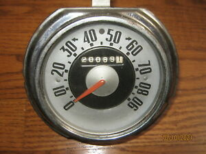 1951 1952 Ford Truck Speedometer 90mph 43660 1c 17255 A