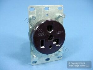 Cooper Commercial Straight Blade Power Receptacle Outlet Nema 5 30 30a 125v 1233