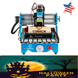 Comgrow Laser Rotary Roller Engraving Module Us Ship