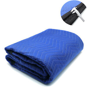 72x80 1pc Extra Thick Furniture Moving Packing Blanket For Shipping Furniture Pa