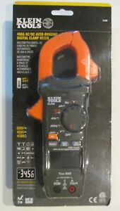 Klein Cl390 Ac dc High Visibility Digital Clamp Meter Auto ranging 400 Amp New