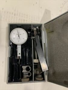 Mitutoyo 513 202 Jeweled Dial Test Indicator W Case 0005 Japan W Pile Of Acc