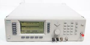 Anritsu 68369a nv 68367c 10 Mhz To 40 Ghz Synthesized Signal Generator