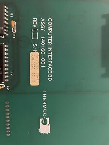 Svg Thermco Board 140160 001 Computer Interface Board