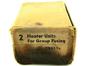 New Trumbull Electric 7801 Overload Thermal Heating Element 1 Amp