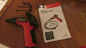 Ridgid See Snake Micro Inspection Camera And 3 Piece Accesssory Only No Cable