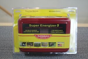 Parmak Super Energizer 5 Ac operated Electric Fence Charger