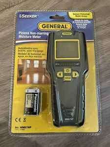 General Pinless Non Marring Moisture Meter The Seeker New Sealed Mmd7np