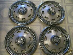 Old 1967 Dodge Charger Hubcaps Set Of 4