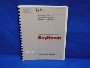 Raytheon Stc 1000a 1 Instruction Manual