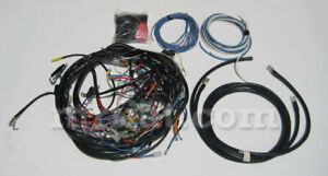 Fiat Dino Spider 2000 Wiring Kit New