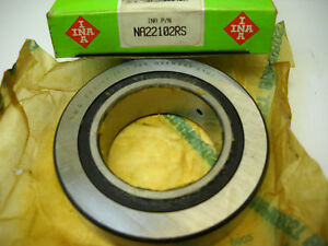 Ina Na22102rs Cam Follower Needle Roller Bearing Na 2210 2rs New In Box