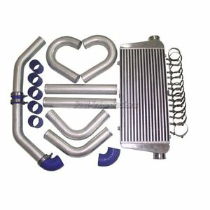 Cxracing Intercooler 30x11x3 3 Piping Kit For Mustang