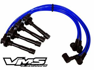 Vms 94 01 Acura Integra B18b1 Engine 10 2mm Racing Spark Plug Wires Cables Blue