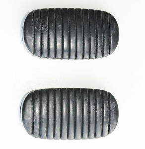 1938 To 1952 1955 To 1957 Chevy Car Pedal Clutch Brake Pad Set 2pc