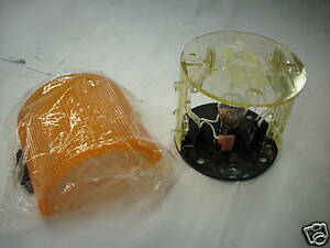 Federal Signal Lsl 024a Amber Beacon 24vdc Ser A3 New