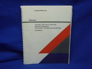 Tektronix Tds 684a 744a 784a Technical Reference