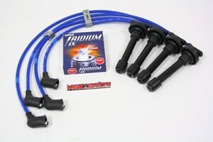 Ngk Spark Wires Iridium Ix Plugs Kit For 98 01 Nissan Frontier Free Separators