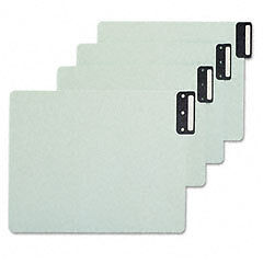 Smead 61635 Green End Tab File Guides Metal Tabs 49ct