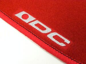 Vms Dc 2dr Rs Ls Red Floor Mats Interior Custom Carpets For 94 01 Acura Integra