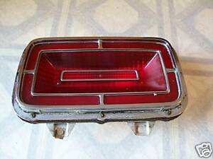 1970 Ford Taillight And Housing Rat Rod