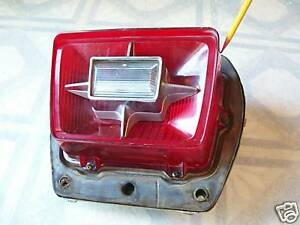 1969 Ford Taillight And Housing Rat Rod