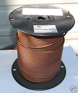 Xhhw 2 500 Ft 14 Awg Stranded Copper Wire Brown