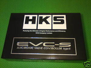 Hks Electronic Valve Boost Control Evc s Evc S Type S