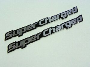 Dodge Charger Challenger Rt Supercharged Hood Emblems