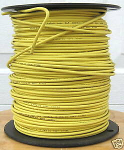 Xhhw 2 500 Ft 14 Awg Stranded Copper Wire Yellow